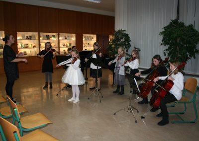 Nastop učencev violine in viole